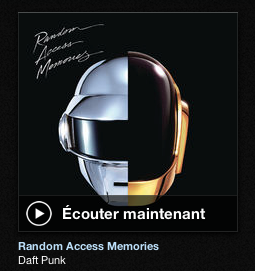 nouvel album de Daft Punk