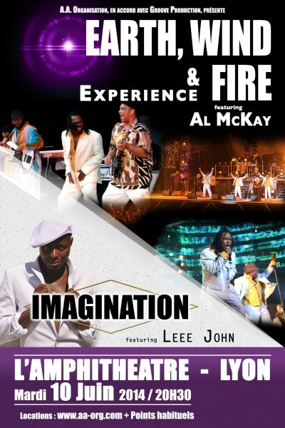 EARTH WIND & FIRE Experience + IMAGINATION