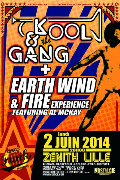 KOOL & THE GANG + EARTH WIND & FIRE Experience
