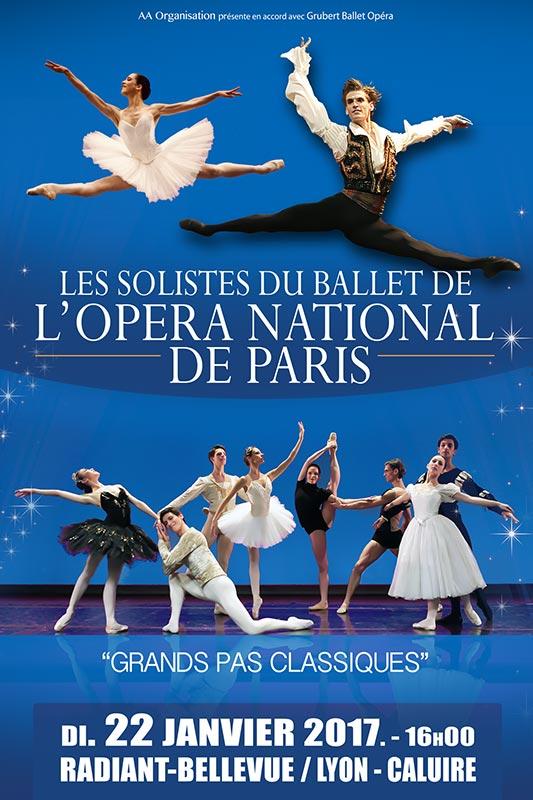 Les Solistes de l'Opéra de Paris à Lyon