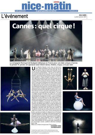 03 janvier 2017 Nice-Matin Reriquel