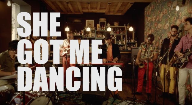 She Got Me Dancing - Charlie and the Soap Opera nouveau clip
