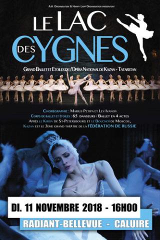 Le Lac des Cygnes à Lyon en 2018, par le Ballet de Kazan