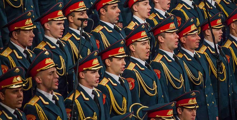 Les Choeurs de l'Armée Rouge Alexandrov