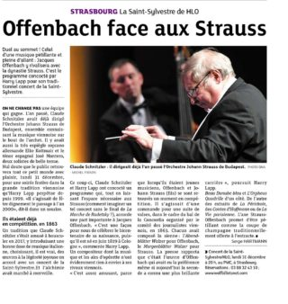 Article Presse Concert du Nouvel An 2018 - DNA